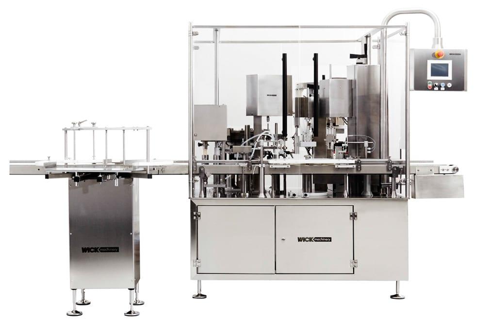 Foto von einer Abfüllmaschine der Firma Wick